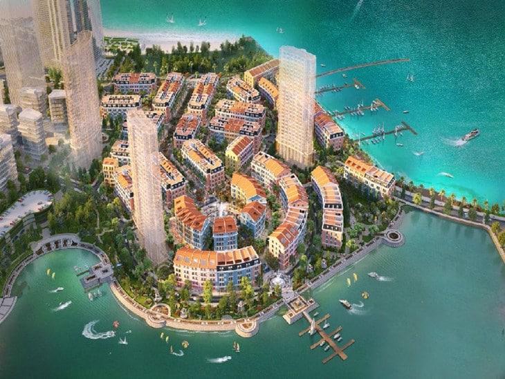 Phối cảnh tổng quan dự án Harbor Bay Ha Long