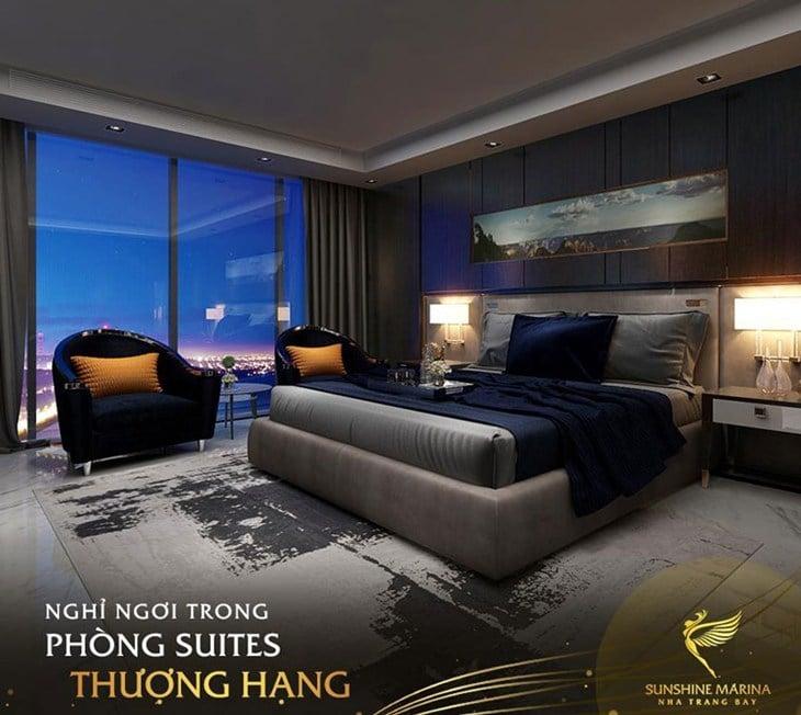Mặt bằng chi tiết căn hộ Sunshine Marina Bay Nha Trang
