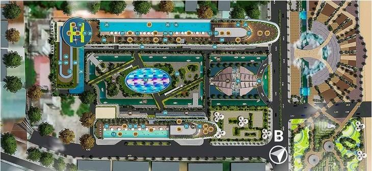 Tiện ích nổi bật tại Sunshine Marina Nha Trang