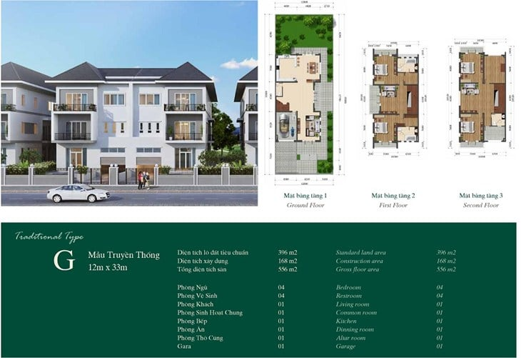 biet-thu-mau-G-Gardenville-Tay-ho-Residence-ciputra
