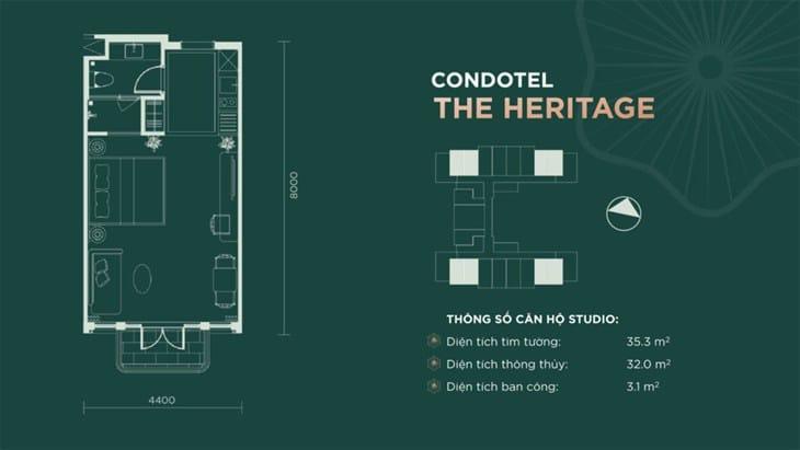 Thiết kế căn hộ condotel Sim Island Phú Quốc 3