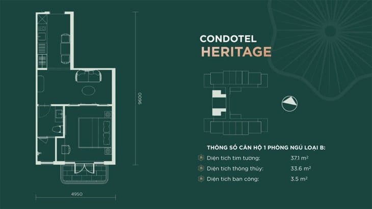 Thiết kế căn hộ condotel Sim Island Phú Quốc 4