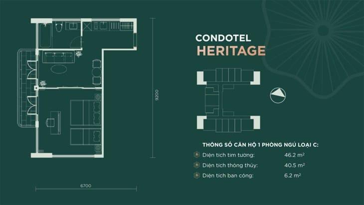 Thiết kế căn hộ condotel Sim Island Phú Quốc 5